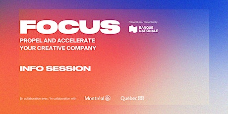 Info Session about the Focus Program tickets