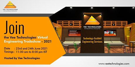 Vee Technologies Virtual Engineering Trade Show - 2021 tickets