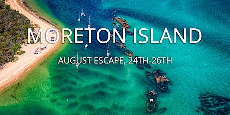 Moreton Island, August Escape tickets