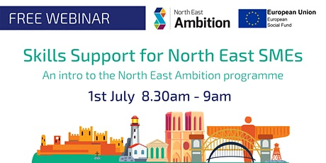 An Introduction to North East Ambition - Skills Support for North East SMEs tickets