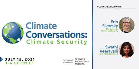 Climate Conversations: Climate Security tickets