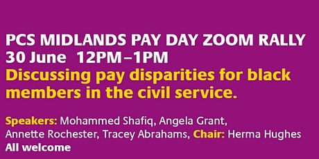 PCS MIDLANDS PAY DAY ZOOM RALLY tickets