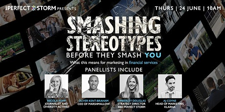 Smashing Stereotypes in Financial Services tickets