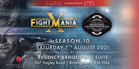 White Collar Boxing Championships and FightMania Season10 tickets