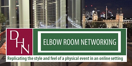 23.06.21 - DHN Elbow Room Networking - (Lunchtime Event) tickets