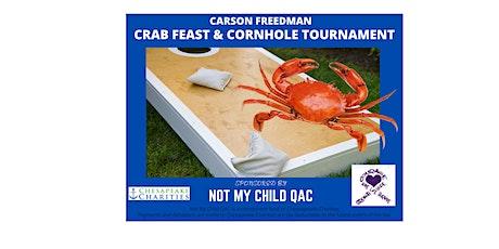 Carson Freedman Crab Feast & Cornhole Tournament tickets