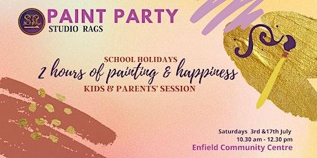 Paint Party- Kids & Parents tickets