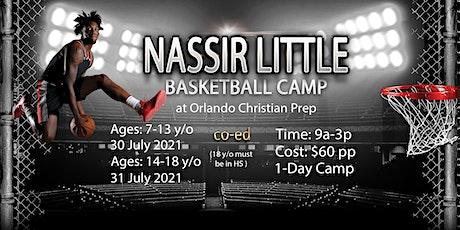 Nassir Little Basketball Camp tickets