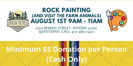 Rock Painting and Open Hours at the Farm tickets