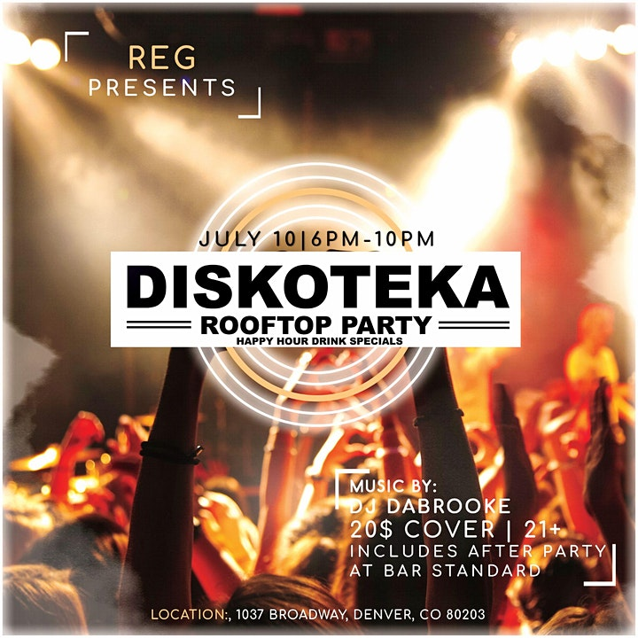REG presents HAPPY HOUR DISKOTEKA / ROOFTOP PARTY image