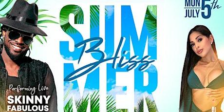 Summer Bliss - The Premium Summer Cooler Fete tickets