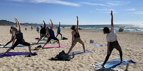 Morning Sunshine Yoga at Sandbanks, Poole tickets