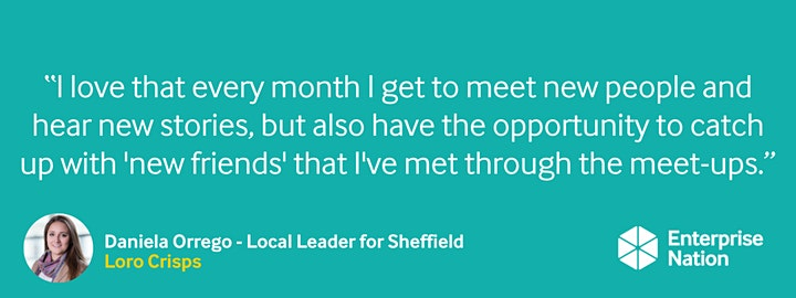 Online small business meet-up: Sheffield image