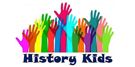 History Kids Club- July tickets