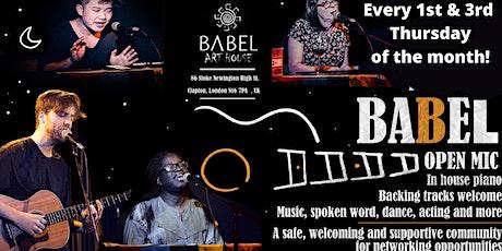 Babel Open Mic tickets