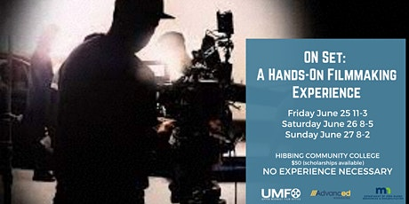 ON SET 3 DAY FILMMAKING EXPERIENCE tickets