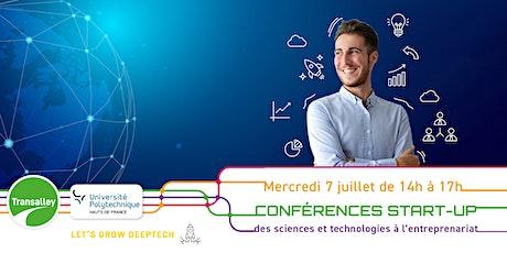 Conférences start-up : des sciences et technologies à l'entrepreneuriat billets