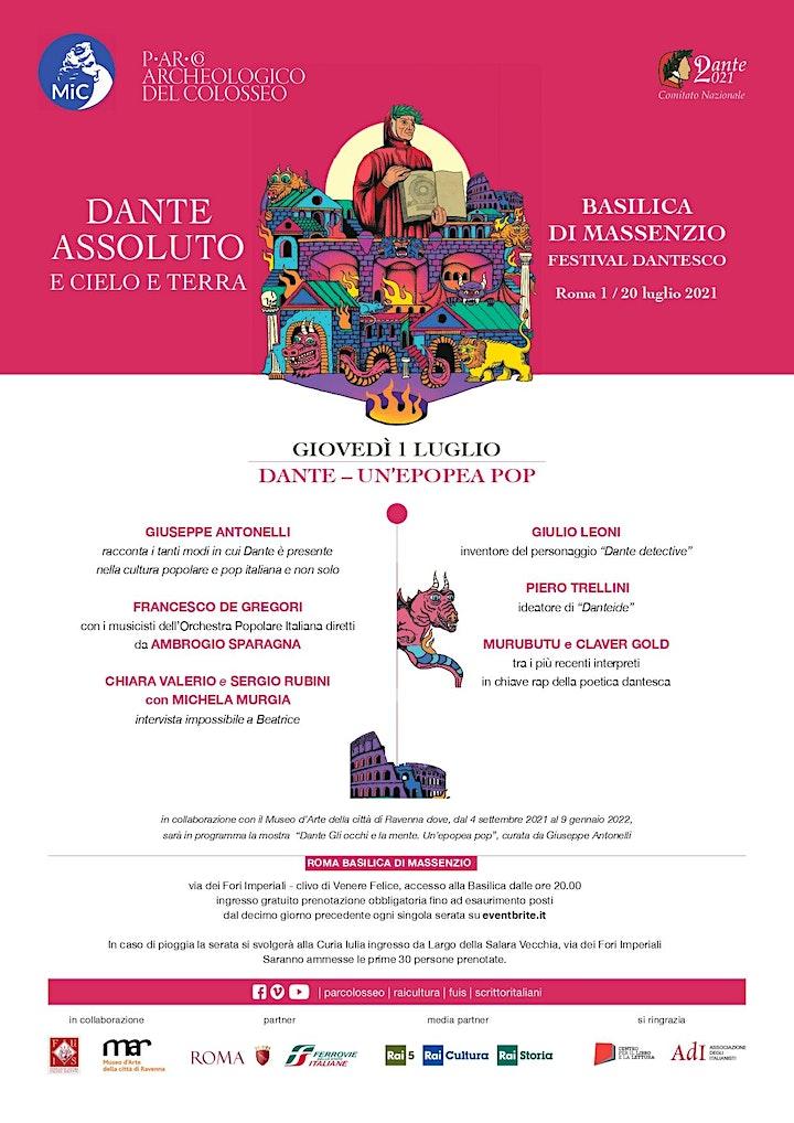 """Immagine Festival """"Dante Assoluto"""""""