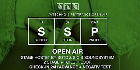 Schere Stein Papier Open Air Tickets