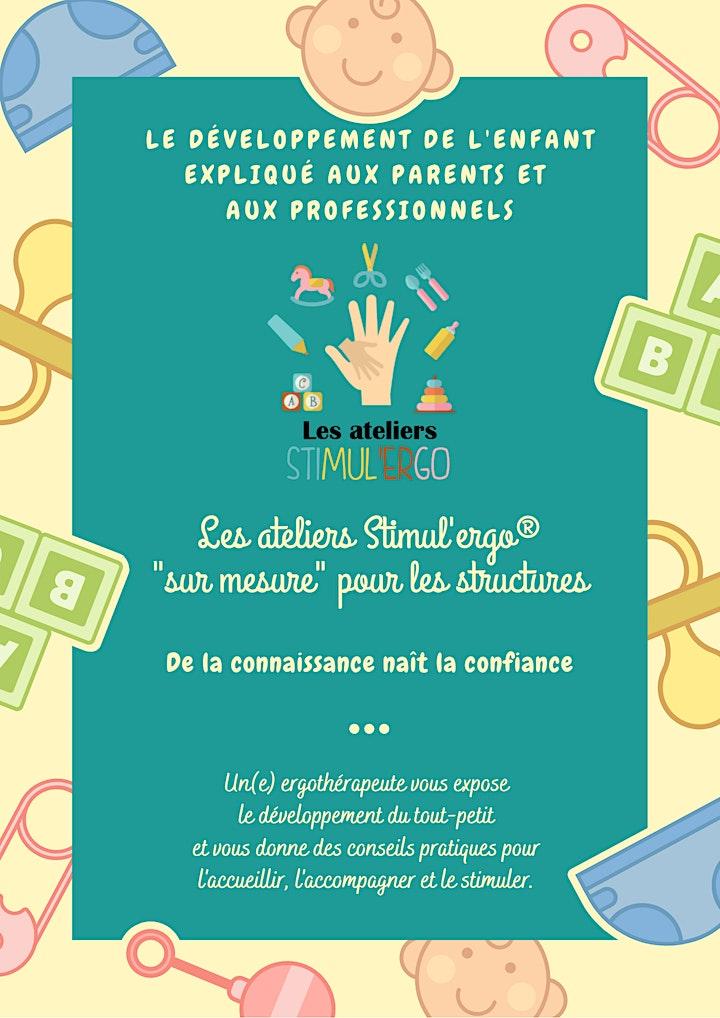 Image pour Atelier Stimul'ergo - L'Atelier Le Petit explorateur (6-18 mois)