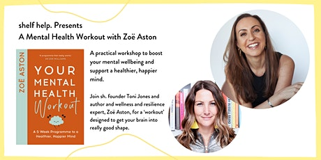 [workshop] A Mental Health Workout with Zoë Aston tickets