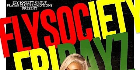 Fly society fridays tickets