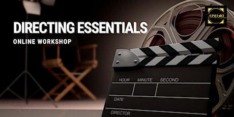 Workshop: Directing essentials tickets