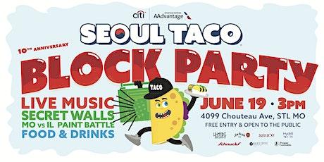 Seoul Taco Block Party tickets