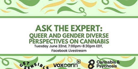 Queer and Gender Diverse Perspectives on Cannabis tickets