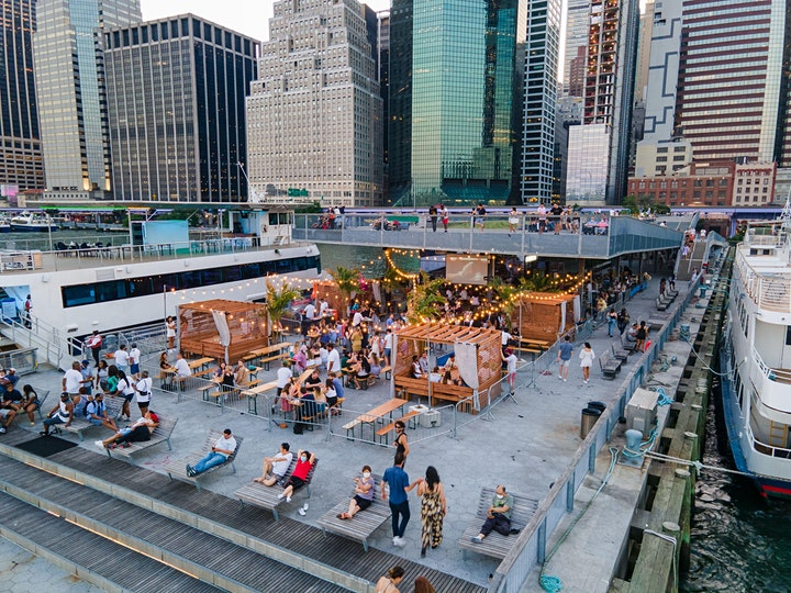 """SATURDAYS: """"BRUNCH & SUNSETS """" ON THE WATER @ WATERMARK - PIER 15 NYC image"""