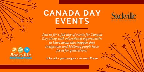 Canada Day Activities tickets