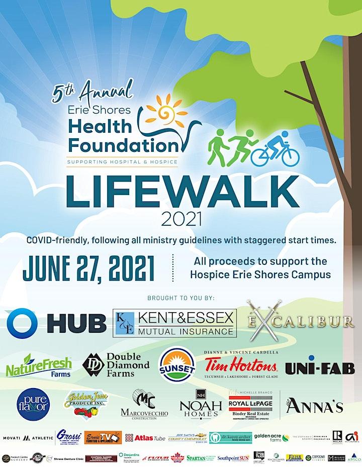 2021 Life Walk/Run/Half Marathon for Hospice image