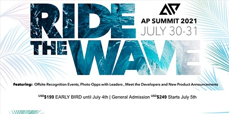 Ride The Wave - 2021 AP Summit tickets