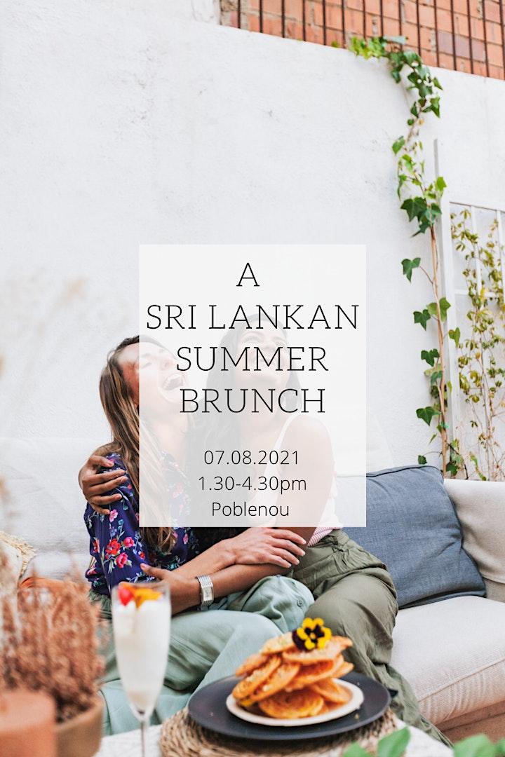 Sri Lankan Summer Brunch image