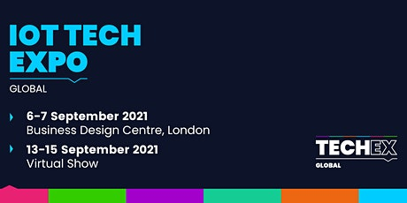 IoT Tech Expo Global 2021| Virtual Conference tickets