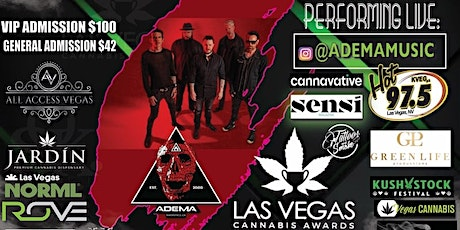 Adema Concert 7/10 By All Access Vegas tickets