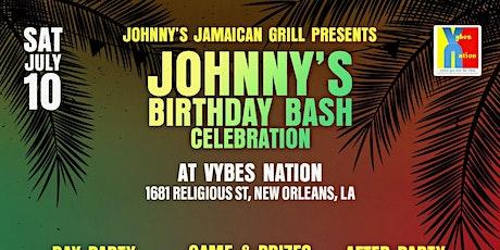 Johnny's Birthday Bash Celebration tickets