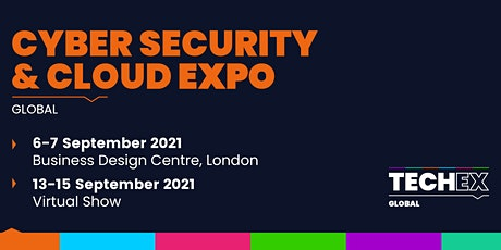 Cyber Security & Cloud Expo Global 2021| Virtual Conference tickets