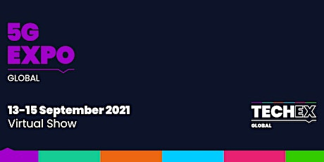 5G Expo Global 2021  Virtual Conference tickets