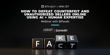 """""""How to defeat counterfeit online using AI + Human expertise tickets"""