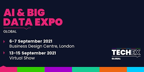 AI & Big Data Expo Global 2021  Virtual Conference tickets