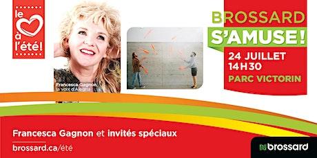 Francesca Gagnon et ses invités spéciaux au parc Victorin tickets
