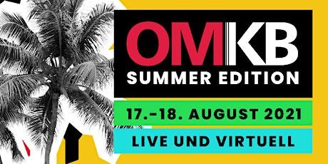 OMKB |Digital Business Konferenz  | 17. + 18.08.2021 Tickets