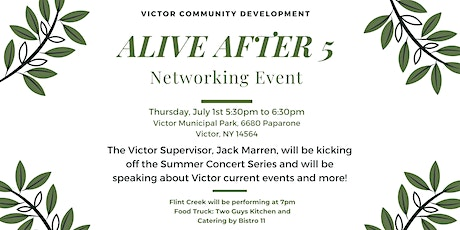 Alive After Five- Networking Meeting with Supervisor Jack Marren tickets