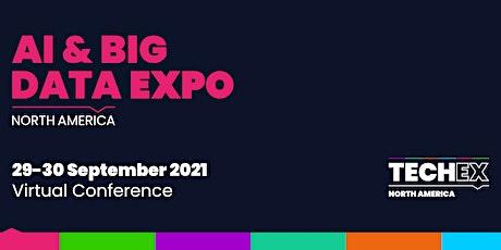 AI & Big Data Expo North America Virtual 2021 tickets