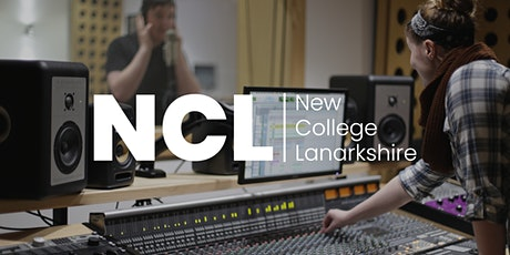 New College Lanarkshire Virtual Open Event: Sound Production tickets