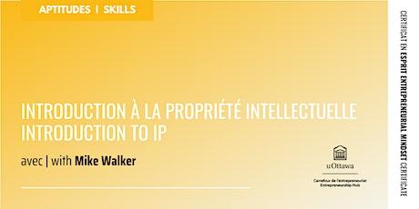 CEE : Introduction à la propriété intellectuelle | EMC: Introduction to IP entradas