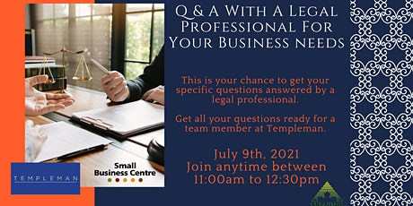Q & A With A Legal Professional For Your Business needs tickets