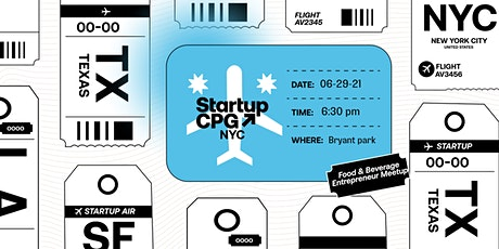 Startup CPG NYC Meetup - June tickets