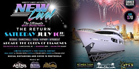 New Level Boat Cruise The Return 2021 tickets